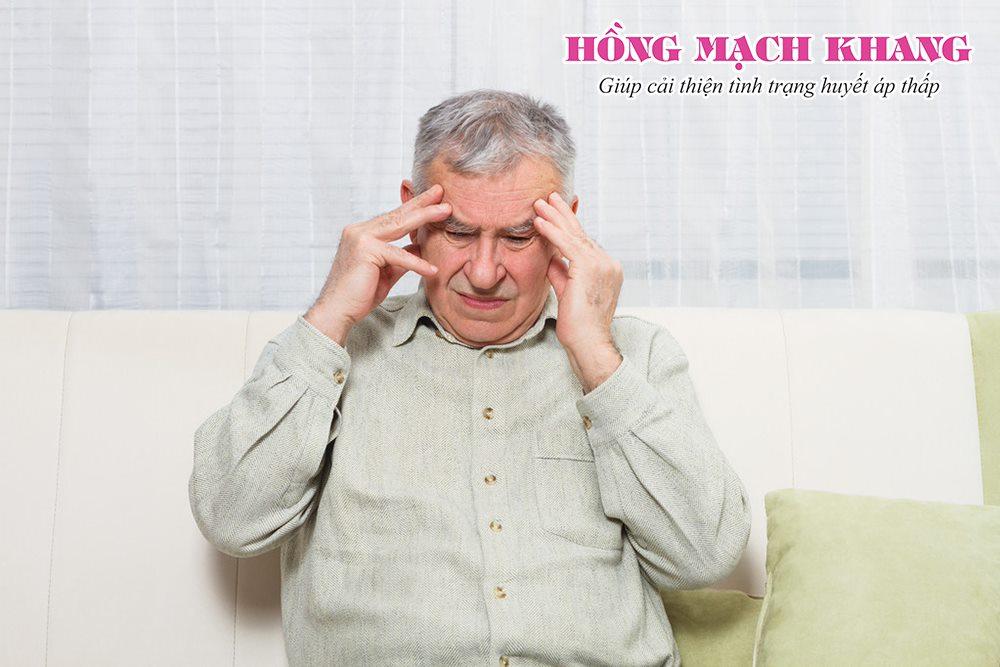 Chú Hiểu từng khổ sở vì chứng đau đầu do tụt huyết áp